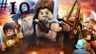 Lego The Lord Of The Rings - Walkthrough - Part 10 - Syncronized Dance