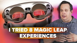I tried 8 Magic Leap experiences, then questioned my reality - CNETTV