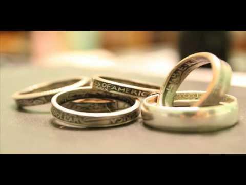 Как сделать себе кольцо из монеты