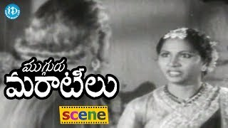 Mugguru Maratilu  Movie Scenes - Rukku Argues With Her Husband Kaka Ji || Bezawada Rajaratnam, ANR - IDREAMMOVIES