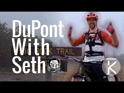 Riding DuPont With Seth's Bike Hacks & GoPro Karma Grip Stabilizer Test