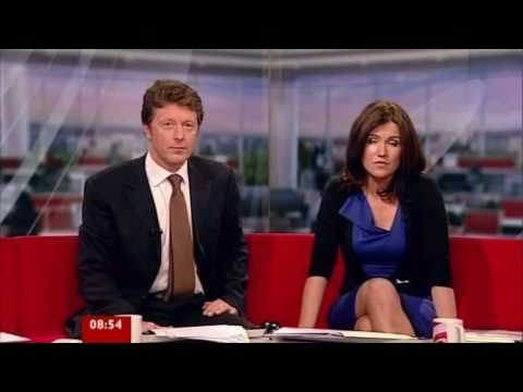 Susanna Reid Tight Blue Dress