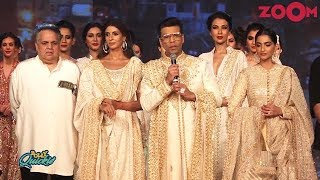 Karan Johar, Sonam Kapoor, Shweta Bachchan & others walk the ramp for a cause | Bolly Quickie - ZOOMDEKHO
