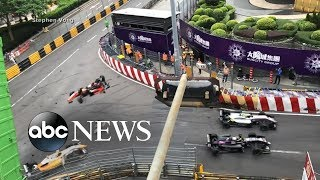 Teen survives dramatic crash at 170 mph - ABCNEWS