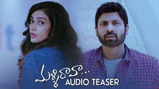 Malli Raava Movie Audio Teaser | Sumanth | Aakanksha Singh | #MalliRaavaTeaser | TFPC - TFPC