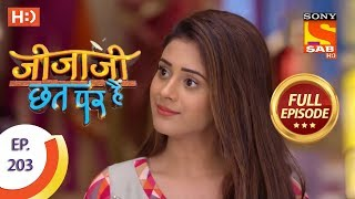Jijaji Chhat Per Hai - Ep 203 - Full Episode - 18th October, 2018 - SABTV
