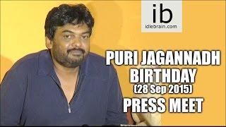Puri Jagannadh Birthday press meet - idlebrain.com - IDLEBRAINLIVE