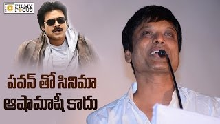The Reason Behind the Suspension of Pawan Kalyan and Sj Surya Movie