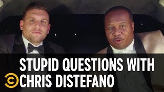 Chris Wants to Take Bill Burr to Prom - Stupid Questions with Chris Distefano - COMEDYCENTRAL