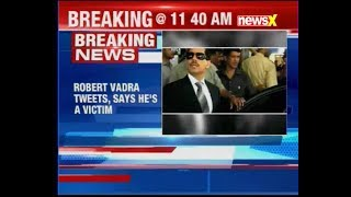 Robert Vadra tweets, says he's a victim and his name is used to divert the nation's real issues - NEWSXLIVE