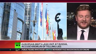 European MEP's lash out at Russia, accuse Kremlin of telling lies - RUSSIATODAY