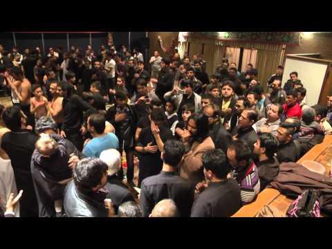 Syed Irfan Haider, Ali Shahnawar, ali jee reciting Noha 21 ramzan at Panjtan center Sydney