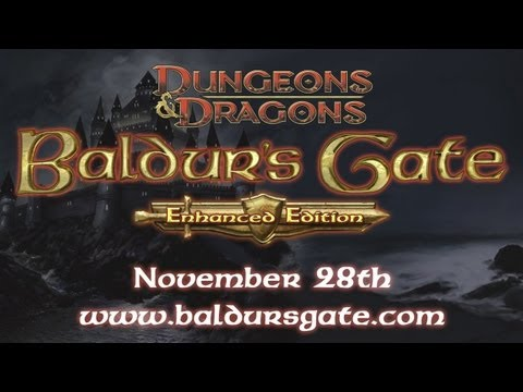 Official Baldurs Gate: Enhanced Edition Gameplay Trailer