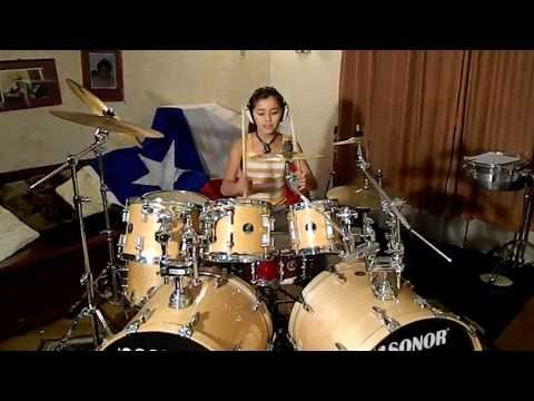 javiera farias1 baterista chilena 11 años