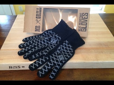 Barbecue Product Review: Mr Grill Heat Resistant Gloves with Malcom Reed HowToBBQRight