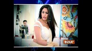 Ishqbaaaz: Cat disrupts Anika-Shivaay's pre-wedding festivities - INDIATV