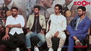 Golden Boys Of 'Gold' Interview   Kunal Kapoor, Amit Sadh, Vineet Kumar Singh, Sunny Kaushal - ZOOMDEKHO