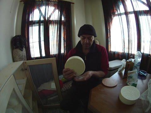 Φτιάχνω τυρί Γραβιέρα -Μυζήθρα μέρος δεύτερο