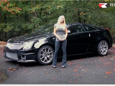 Roadfly.com - 2011 Cadillac CTS-V Coupe Road Test & Review