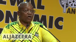 South Africa's Zuma pleads for unity as ANC picks new leader - ALJAZEERAENGLISH