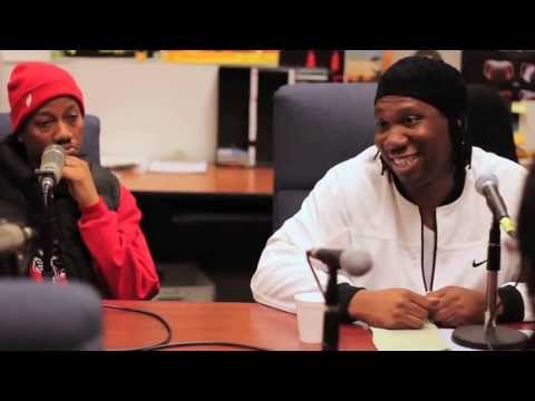 KRS-ONE & Planet Asia 90.7 Interview at Fresno State Part 1