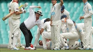 Reaction to death of Cricketer Phillip Hughes - IANSINDIA