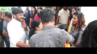 Chiranjeevi - Koratala Siva movie launch - idlebrain.com - IDLEBRAINLIVE