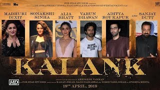 'Kalank' featuring Madhuri, Sanjay, Varun, Alia, Sonakshi & Aditya - BOLLYWOODCOUNTRY