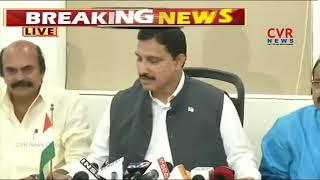 TDP MP Sujana Chowdary Press Meet Over No Confidence Motion | New Delhi | CVR NEWS - CVRNEWSOFFICIAL