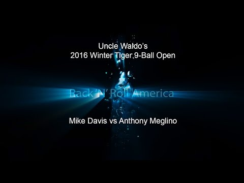 2016 Tiger Tour Winter 9 Ball Open Mike Davis vs Anthony Meglino