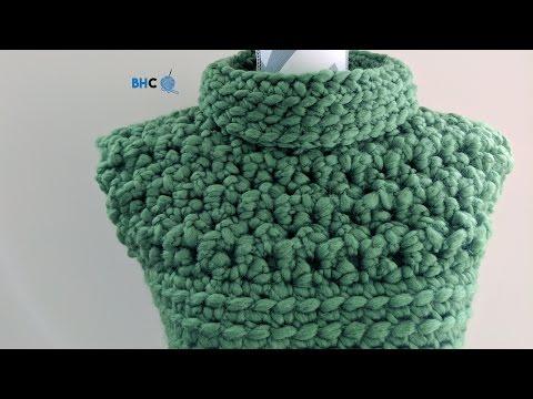 How to Crochet the Cobbled Crochet Vest Left Hand