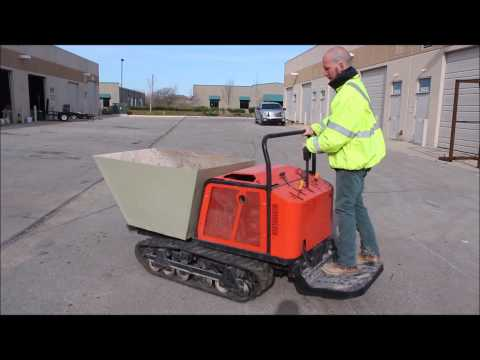 Canycom SC75 concrete buggy for sale | no-reserve Internet auction May 15, 2014