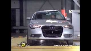 Краш-тест Ауди А6 2012 | Crash-test Audi A6 2012