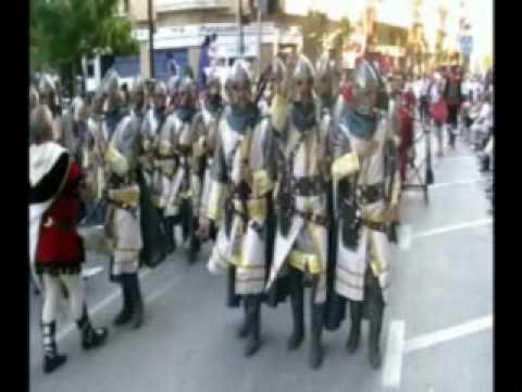 MOROS Y CRISTIANOS d'ONTINYENT 2009 - Entrà CRISTIANA -  Ambaixada Cruzados