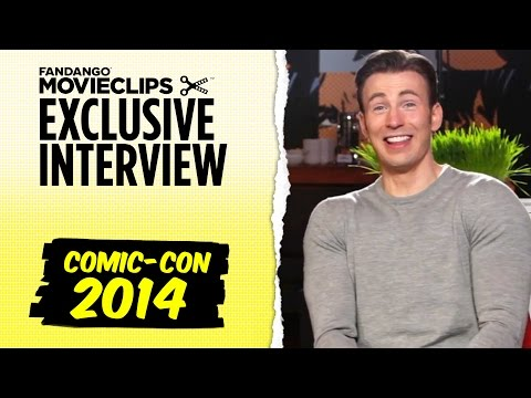 Chris Evans & Mark Ruffalo 'Avengers: Age of Ultron' Exclusive Interview: Comic-Con (2014) HD