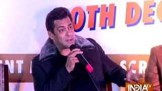 Salman Khan reveals exclusive details about Dabangg 3 on Da-Bangg The Tour - INDIATV