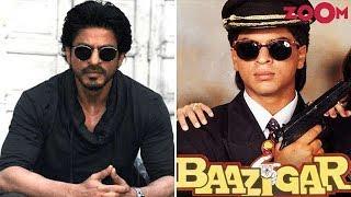 Shah Rukh Khan gets nostalgic on Baazigar's 25 years & more! | Bollywood News - ZOOMDEKHO