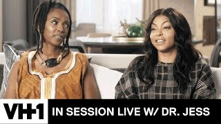 Taraji P. Henson Discusses Mental Health In the Black Community | In Session Live with Dr. Jess - VH1