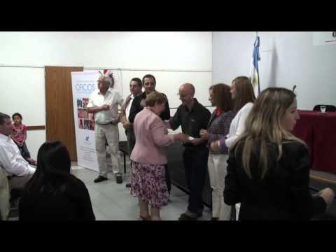 UADER: ENTREGA DIPLOMAS TALLERES DE OFICIOS