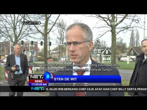 Di Belanda jalur sepeda bertenga surya mulai dioperasikan - NET17