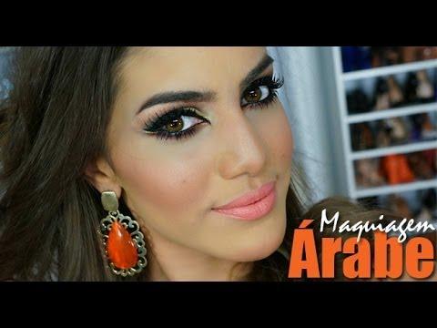 Maquiagem Árabe para olhos castanhos!