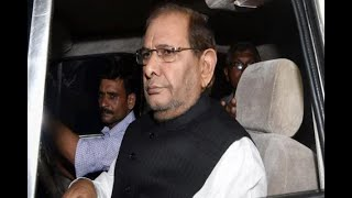 In Graphics: Sharad Yadav congratulate congress president Rahul Gandhi for Gujarat assembl - ABPNEWSTV