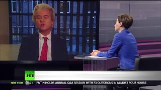 'I do not believe in moderate Islam, but I do believe in moderate people' - Geert Wilders (SophieCo) - RUSSIATODAY
