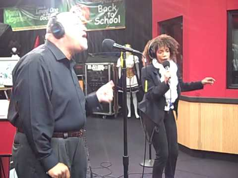 Melba Moore and Phil Perry perform live from the Red Velvet Cake Studio.