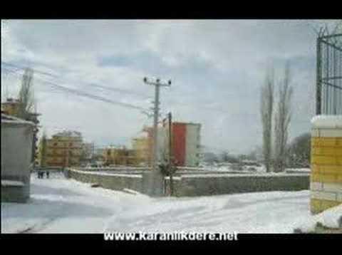 Niğde Bor Karanlıkdere Şubat 2008 Çekiç Ali