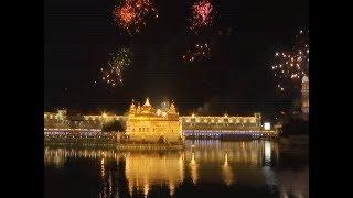 Watch: Celebrations on 352nd Prakash Parv of Guru Gobind Singh at Golden Temple - TIMESOFINDIACHANNEL
