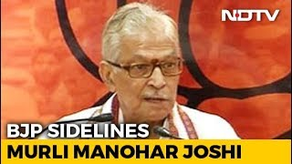 """Told I Shouldn't Contest"": MM Joshi, Benched By BJP, Writes To Voters - NDTV"