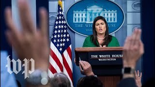 5 times Sanders deflected on Trump revoking security clearances - WASHINGTONPOST