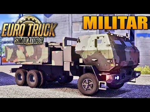 Caminhão Militar - Euro Truck Simulator 2