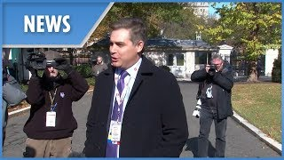 CNN'S Jim Acosta returns to White House following court decision - THESUNNEWSPAPER
